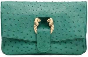 bulgari-jade-green-ostrich-clutch-profile