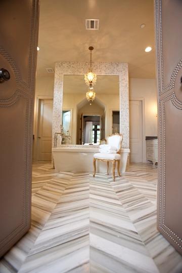 chevron-master-bath-floor