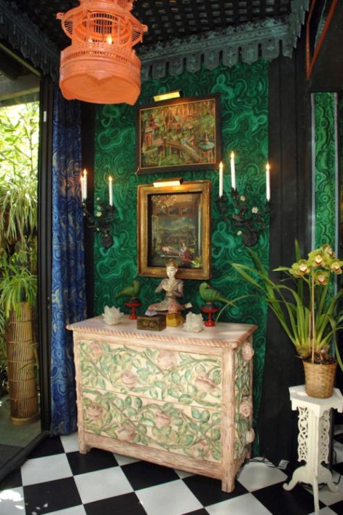 dawnridge-home-tony-duquette-malachite-wall-panel