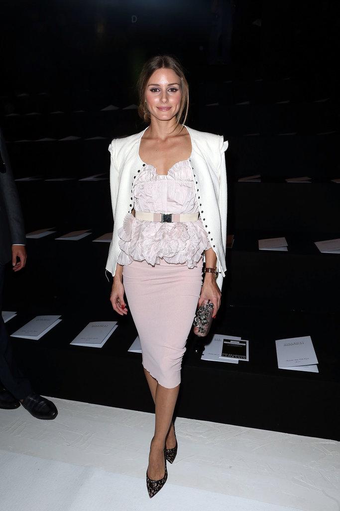 Olivia-went-ladylike-ruffled-soft-pink-Nina-Ricci-Spring-show