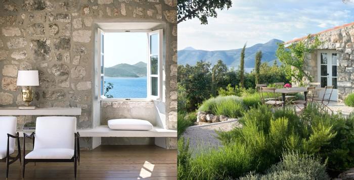 croatia croatian villa garden ocean views cococozy